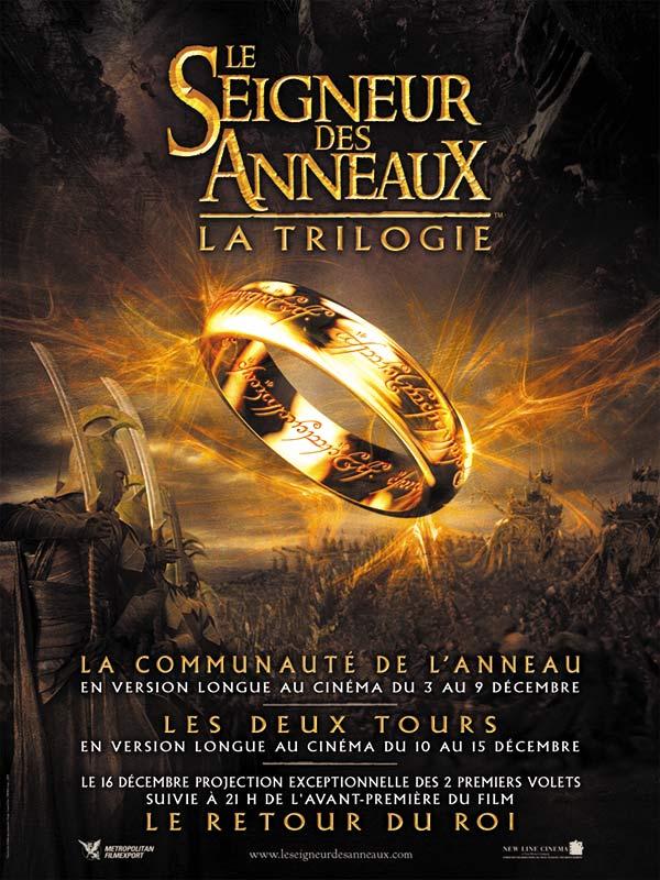 Affiche du film le seigneur des anneaux le retour du roi affiche 3 sur 4 allocin - Tatouage seigneur des anneaux ...