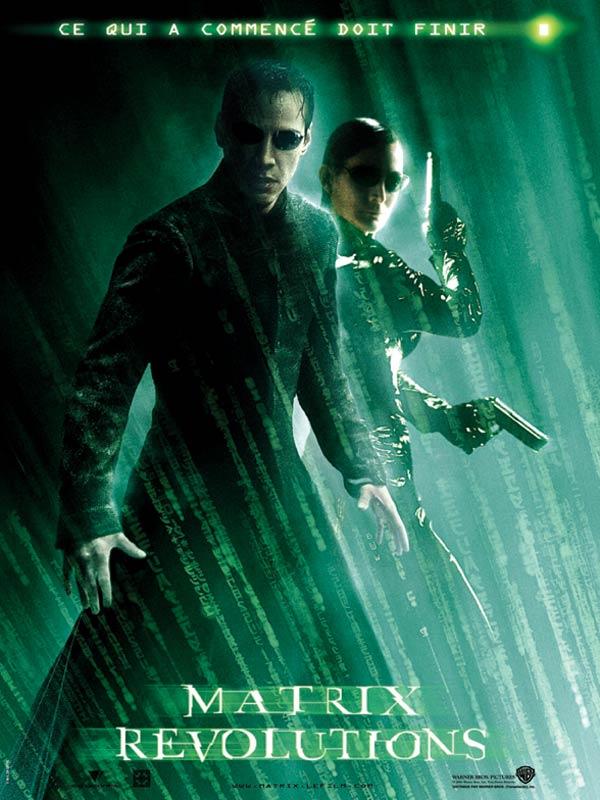 Matrix n° 3 Matrix revolutions