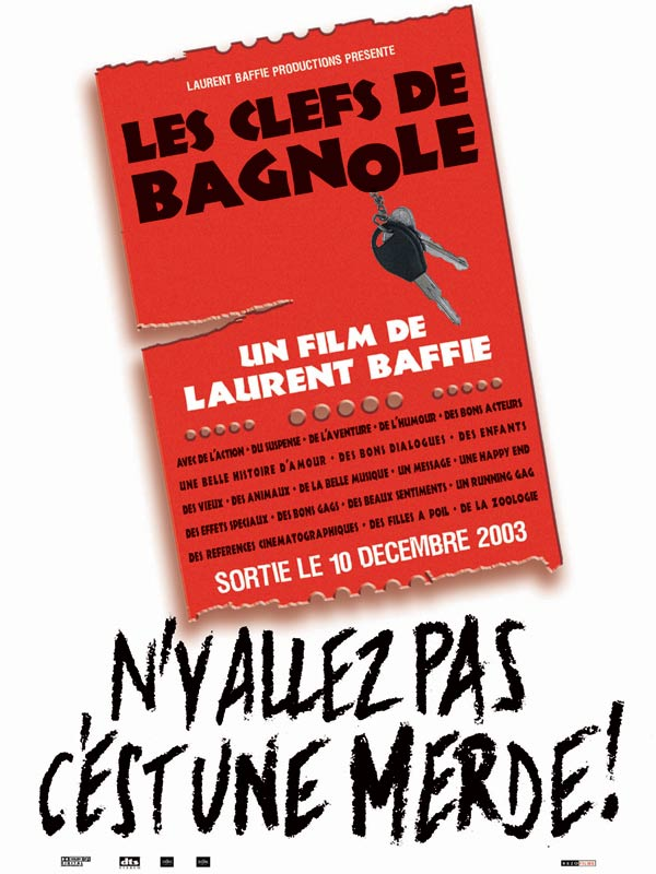les clefs de bagnole film 2003 allocin. Black Bedroom Furniture Sets. Home Design Ideas