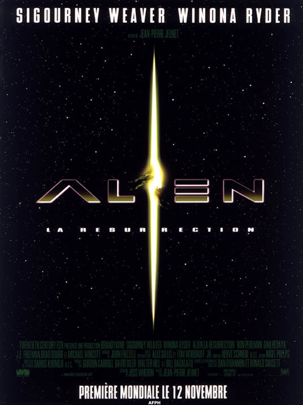 Alien, la résurrection streaming