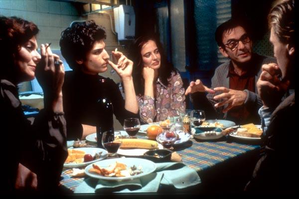 Innocents - The Dreamers : Photo Bernardo Bertolucci, Louis Garrel, Michael Pitt, Robin Renucci