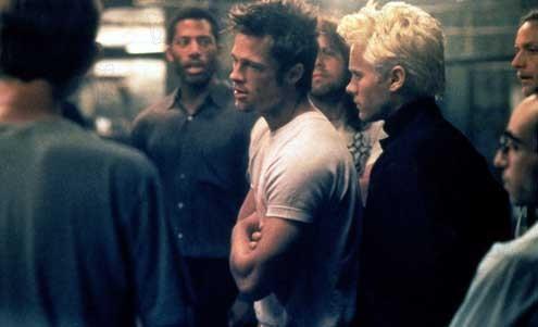 Fight Club : Photo Brad Pitt, Jared Leto