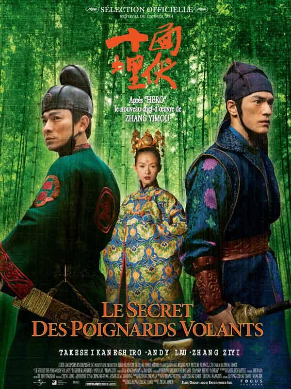 Le secret des poignards volants photos et affiches for Les arts martiaux chinois