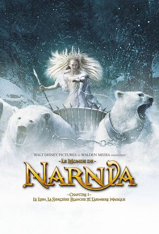 affiche du film le monde de narnia chapitre 1 le lion. Black Bedroom Furniture Sets. Home Design Ideas