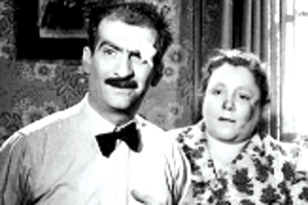 L'Impossible Monsieur Pipelet : photo André Hunebelle, Georgette Anys, Louis de Funès