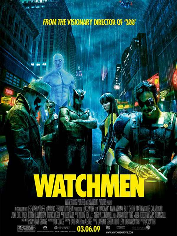 Watchmen - Les Gardiens : Affiche Alan Moore, Dave Gibbons, Zack Snyder