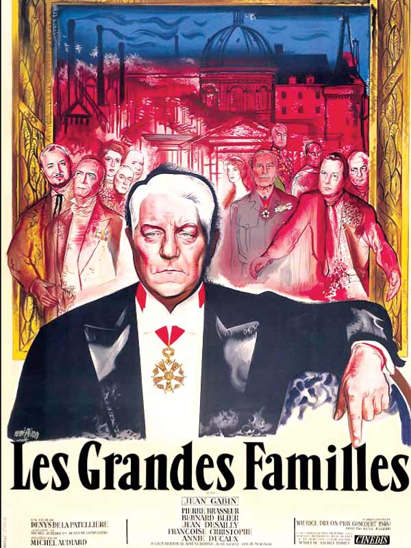 les grandes familles film 1958 allocin. Black Bedroom Furniture Sets. Home Design Ideas
