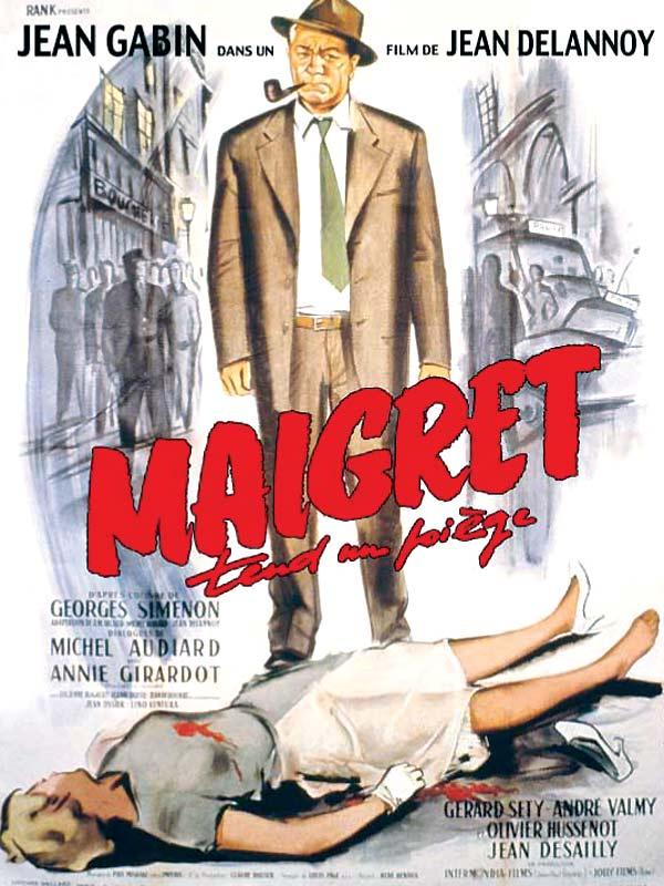 Maigret Sets a Trap (film) Maigret tend un pige film 1958 AlloCin