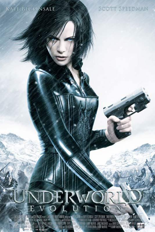 Underworld 2 - Evolution : Affiche Kate Beckinsale, Len Wiseman