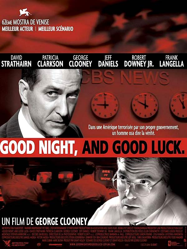 reflection on goodnight and good luck Good night and good luck is about the mccarthy era it is about a time when personal civil liberties were trod on by the government it is about a time when personal civil liberties were trod on by the government.