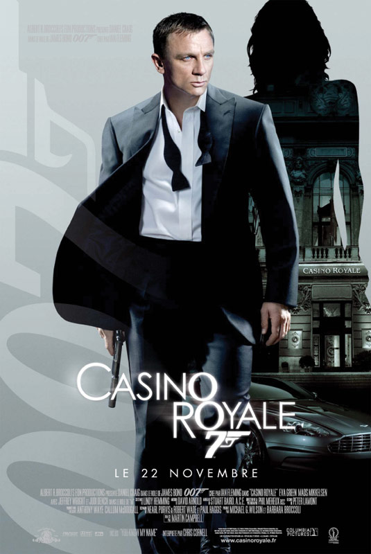 casino royale film 2006 allocin. Black Bedroom Furniture Sets. Home Design Ideas