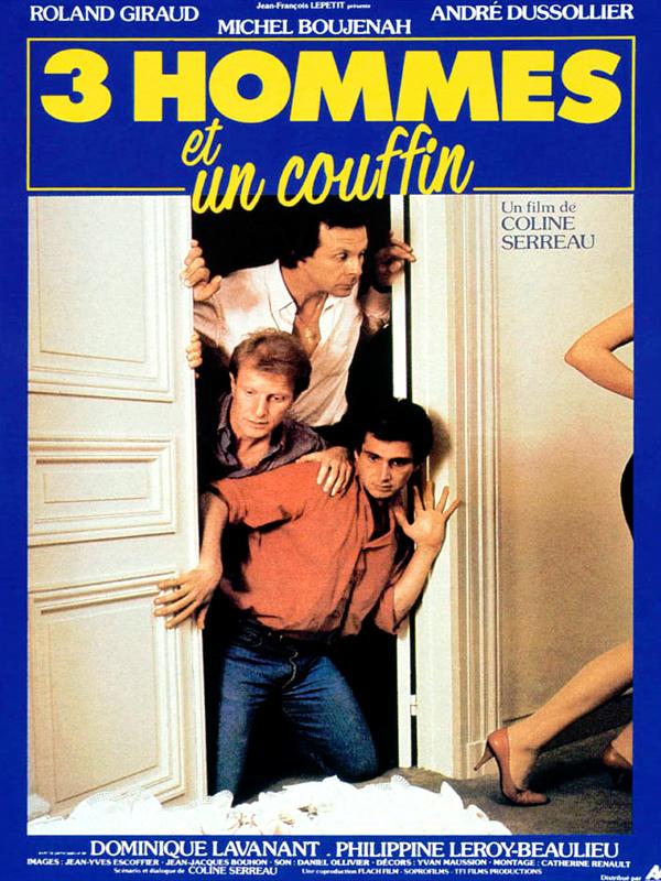 Image result for trois hommes et un couffin
