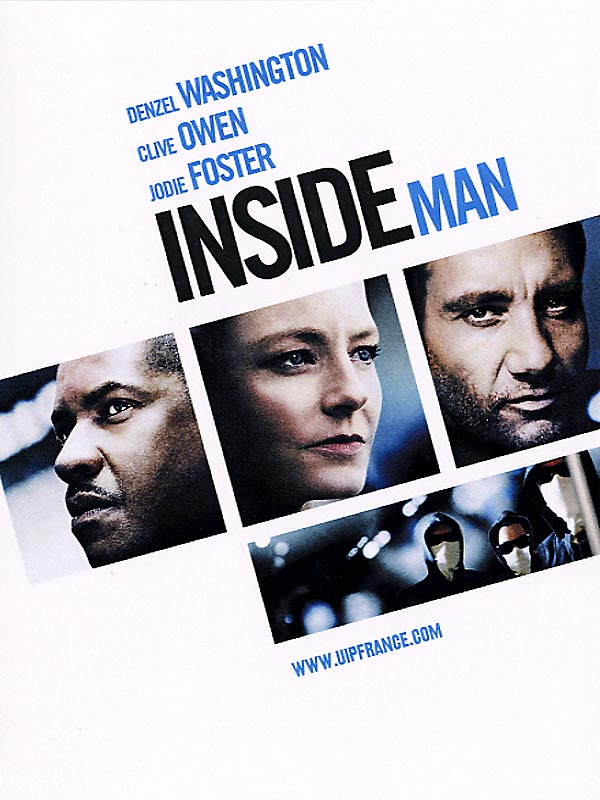 Inside Man l'homme de l'intérieur