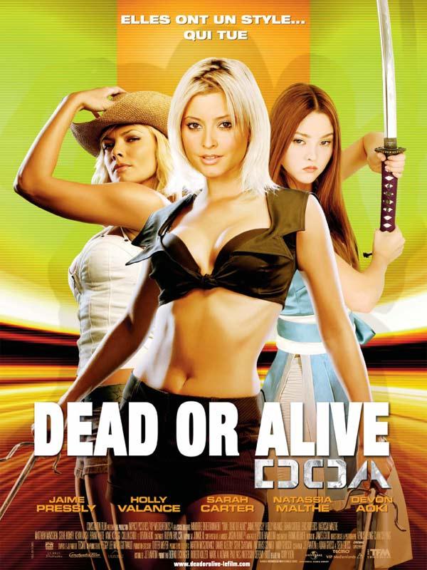 Dead or Alive : affiche Corey Yuen