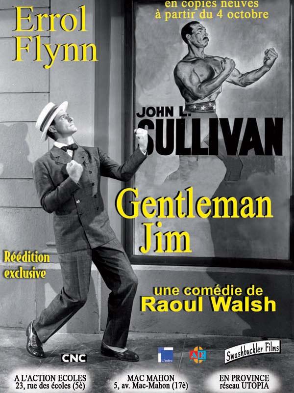 Gentleman Jim : affiche Raoul Walsh