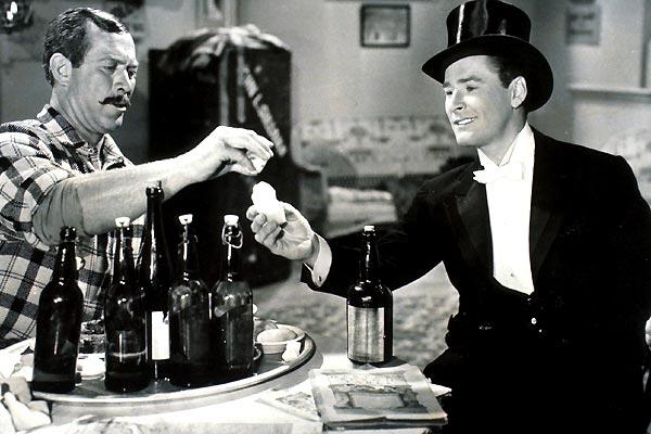 Gentleman Jim : photo Errol Flynn, Raoul Walsh, Ward Bond