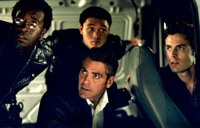 Ocean's Eleven : Photo Casey Affleck, Don Cheadle, George Clooney, Shaobo Qin
