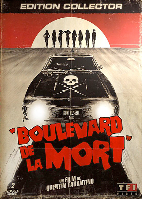 affiche du film boulevard de la mort un film grindhouse