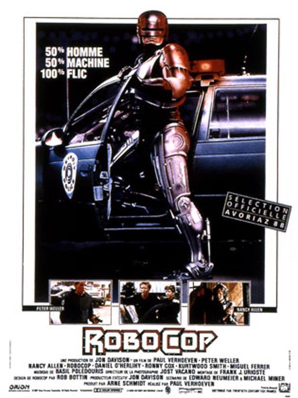 robocop - Affiche Garcon Robot