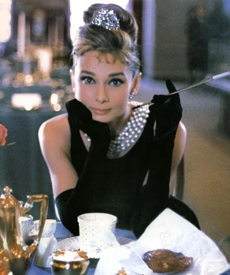 Diamants sur canapé : Photo Audrey Hepburn