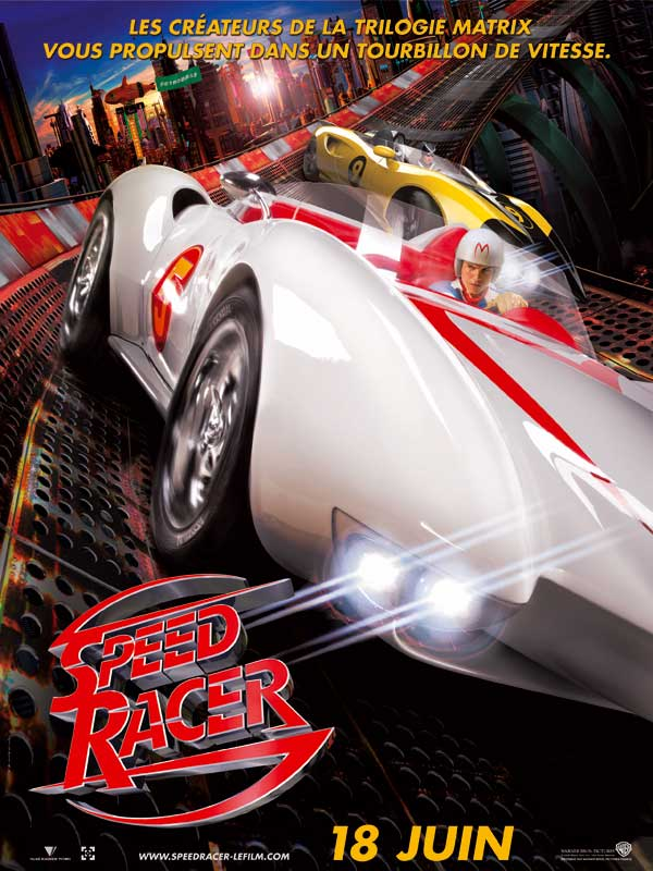 speed racer film 2008 allocin. Black Bedroom Furniture Sets. Home Design Ideas