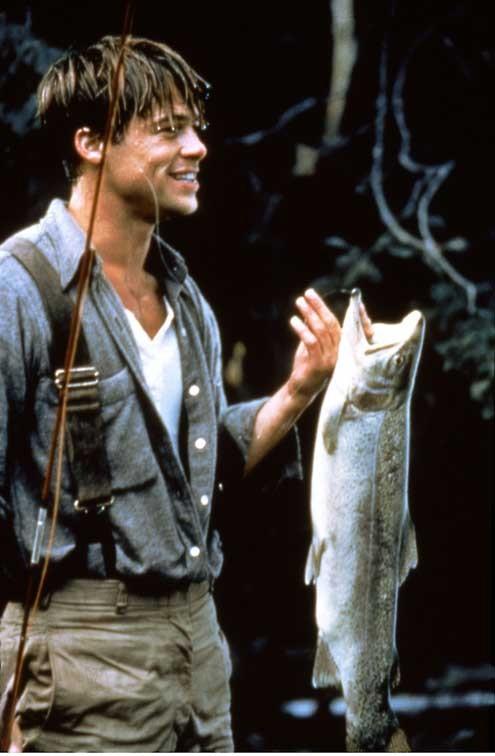 Et au milieu coule une rivière : Photo Brad Pitt, Robert Redford