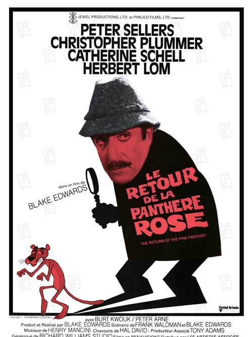 Le retour de la panth re rose film 1975 allocin - Rosier panthere rose ...