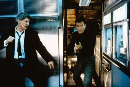 Air Force One : Photo Harrison Ford, Wolfgang Petersen