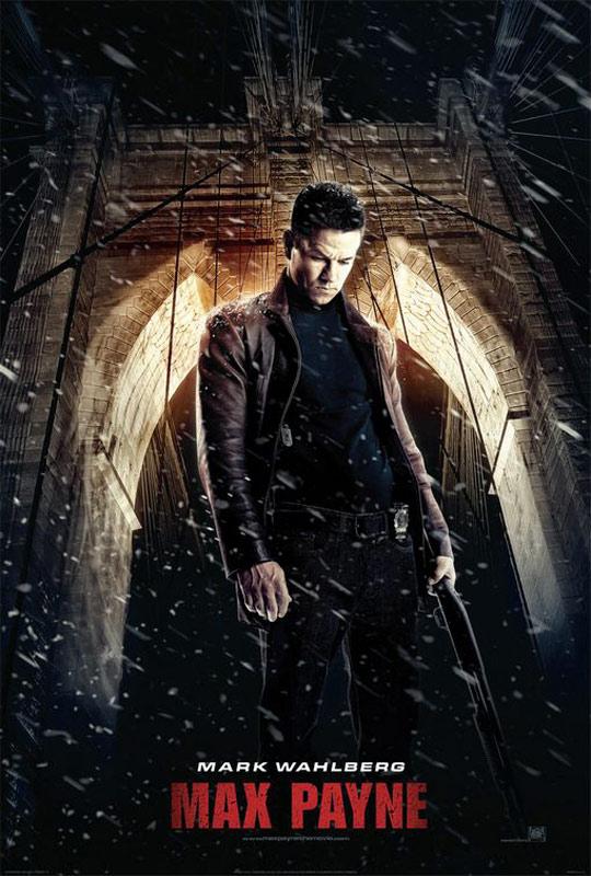 Max Payne : Affiche John Moore, Mark Wahlberg