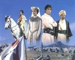 Affiche de la série Thibaud ou les Croisades