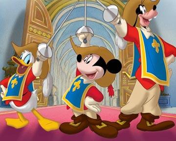 Trailer du film mickey donald dingo les trois - Mickey les 3 mousquetaires ...