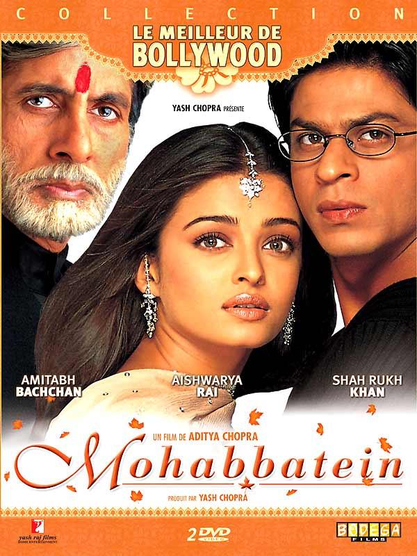 Mohabbatein film 2000 allocin - Regarder coup de foudre a bollywood en streaming ...