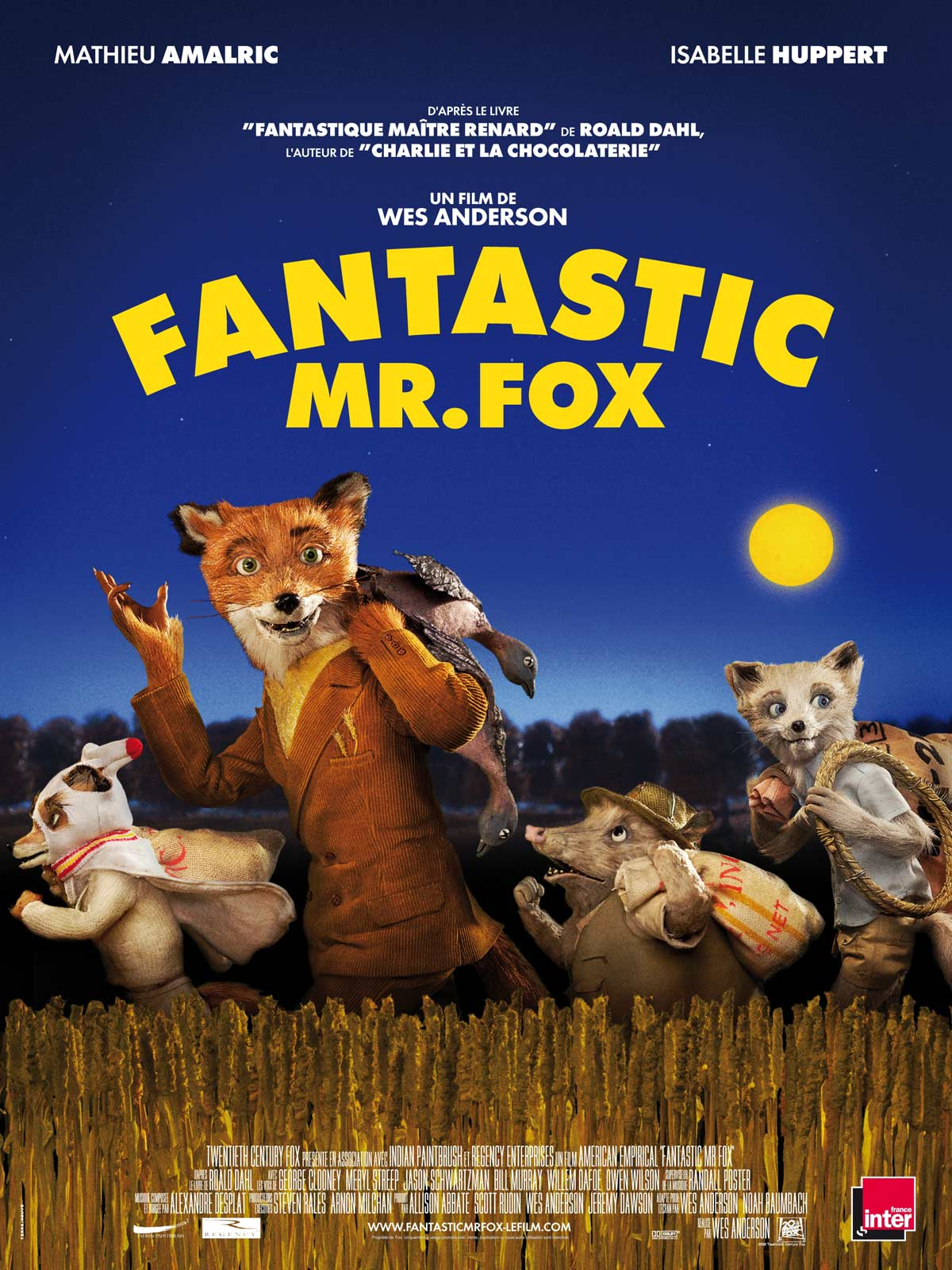 Fantastic Mr. Fox - fi... The Fantastic Mr Fox Cast