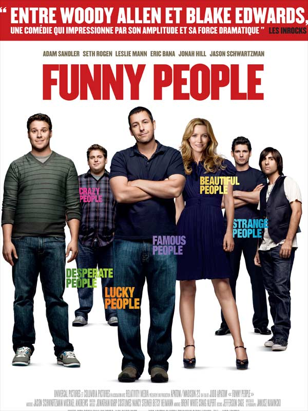 funny people film 2008 allocin. Black Bedroom Furniture Sets. Home Design Ideas