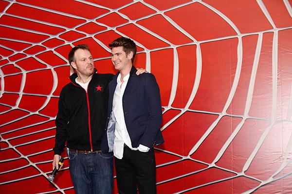 The Amazing Spider-Man : photo Andrew Garfield, Marc Webb