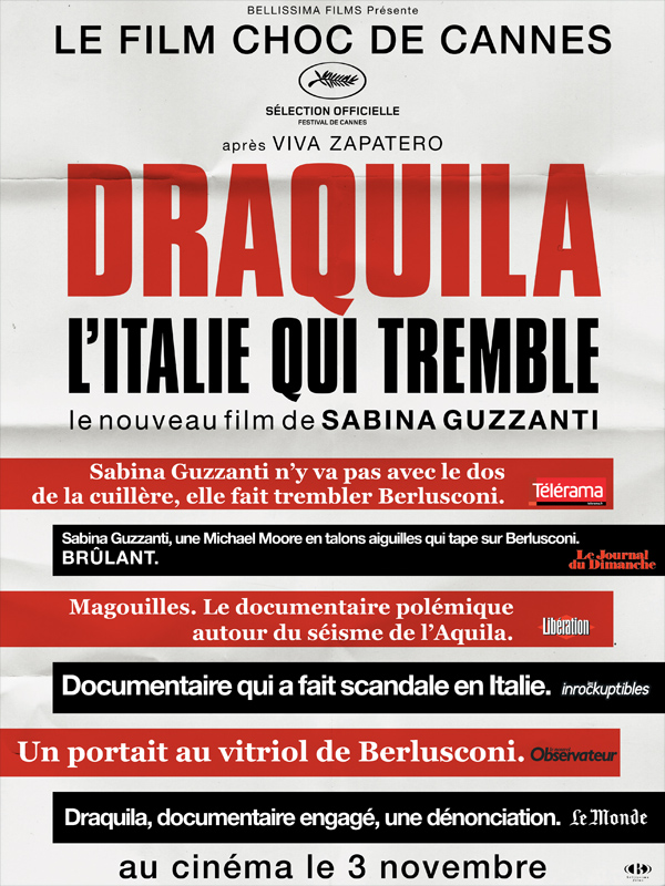 affiche du film draquila l 39 italie qui tremble affiche 5 sur 7 allocin. Black Bedroom Furniture Sets. Home Design Ideas