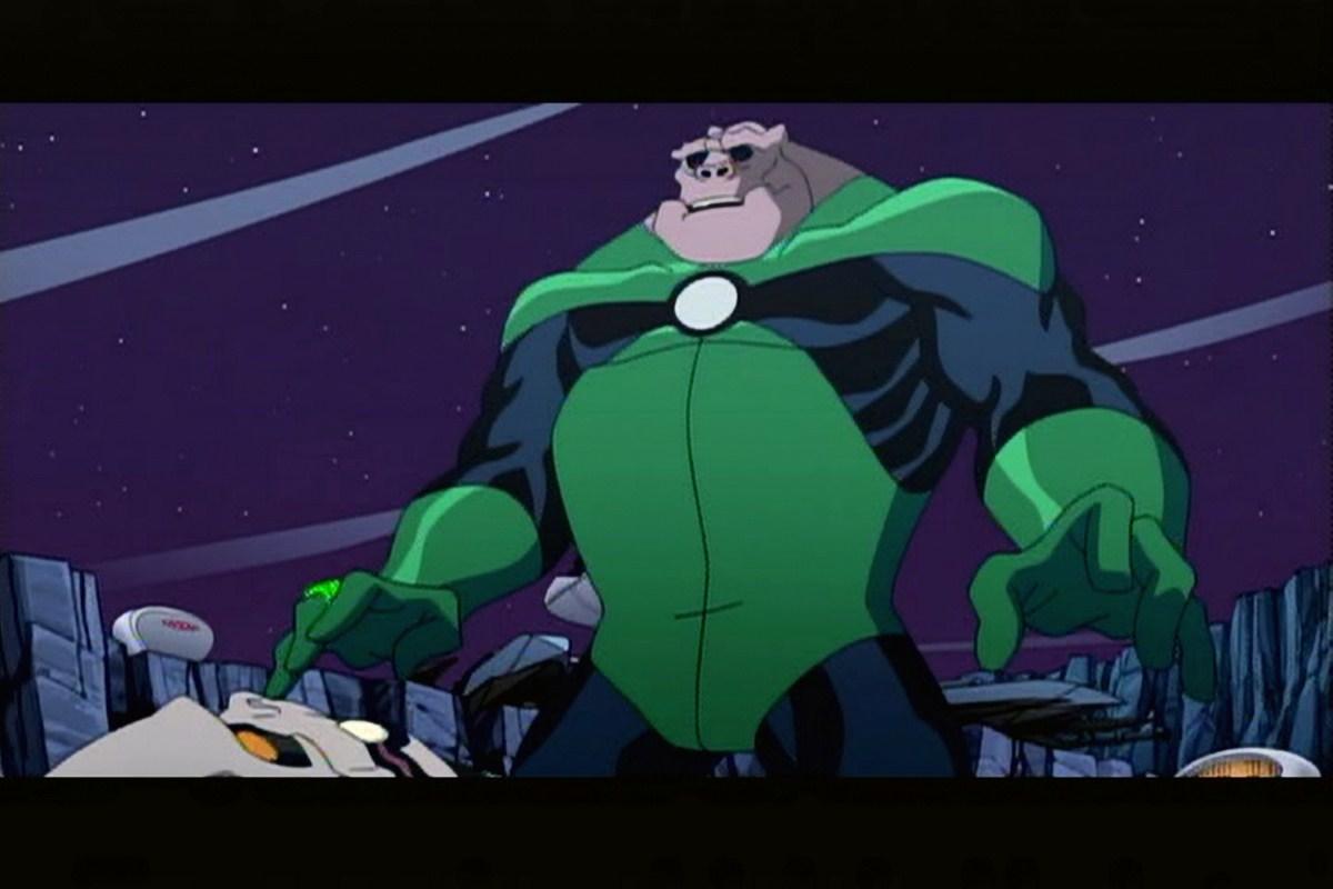 photo du green lantern les chevaliers de l emeraude