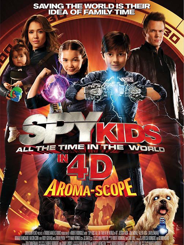 Spy Kids 4: All the Time in the World streaming