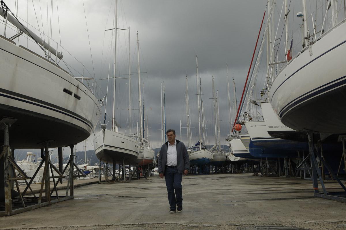La Mer à boire : Photo Daniel Auteuil, Jacques Maillot