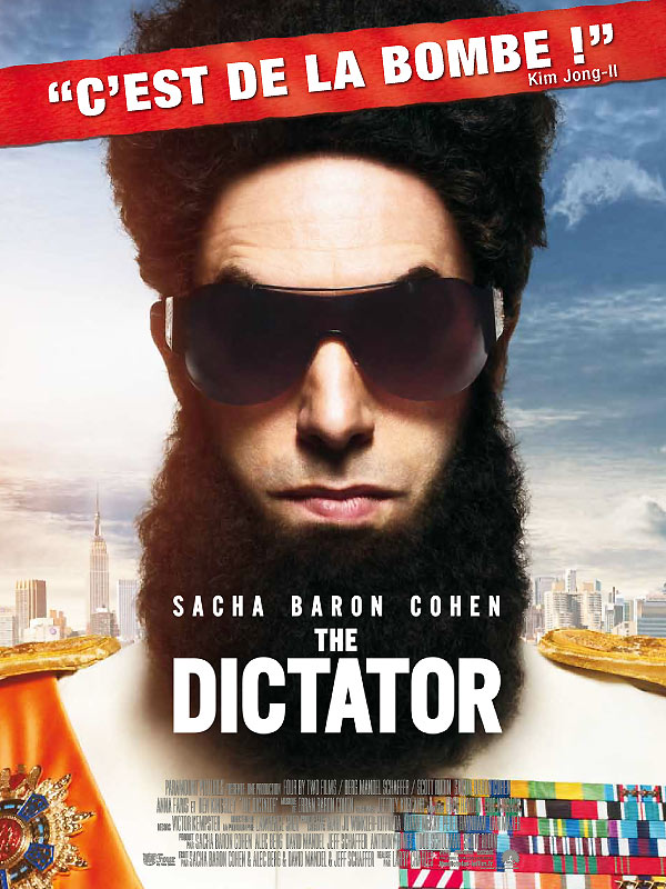 musique du film the dictator allocin. Black Bedroom Furniture Sets. Home Design Ideas