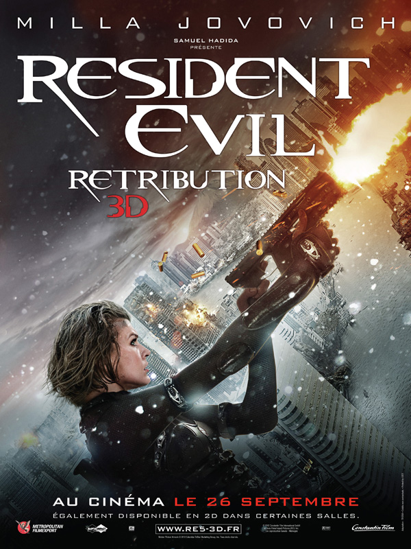 Resident Evil: Retribution streaming