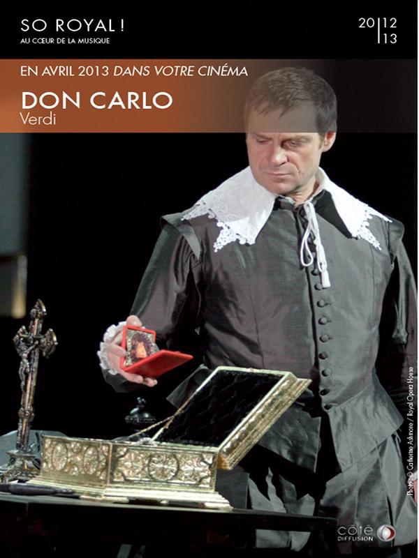 Horaires séances du film Don Carlo (Côté Diffusion) à cournon d'auvergne