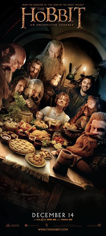 affiche du film le hobbit un voyage inattendu affiche 7 sur 34 allocin. Black Bedroom Furniture Sets. Home Design Ideas