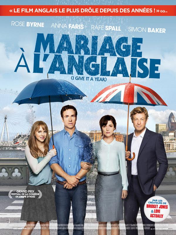 Mariage à l'anglaise affiche