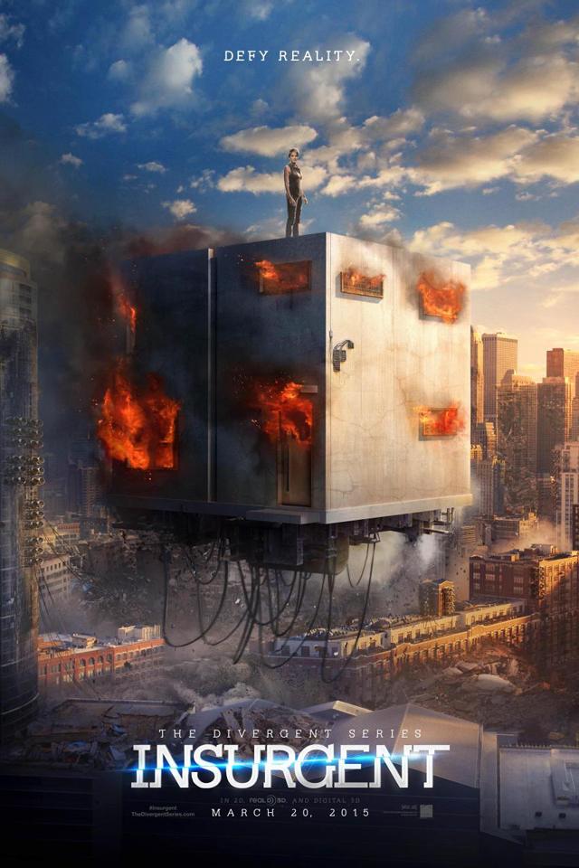Divergente 2: après le teaser, l'affiche officielle de l'Insurrection