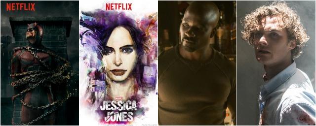 Marvel sur Netflix : Une infographie pour tout comprendre