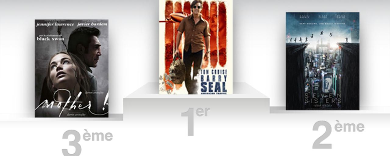Box-office France : Tom Cruise atterrit en tête avec Barry Seal