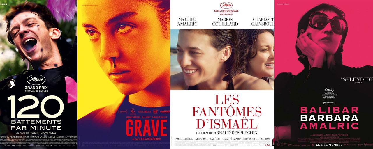 Prix Louis-Delluc 2017 : 120 BPM, Grave, Les Fantômes d'Ismaël et Barbara en lice