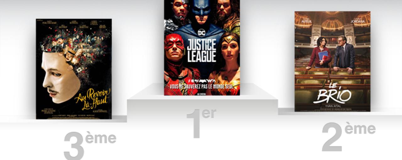 Box office france la justice league conserve la premi re place allocin - Allocine box office france ...