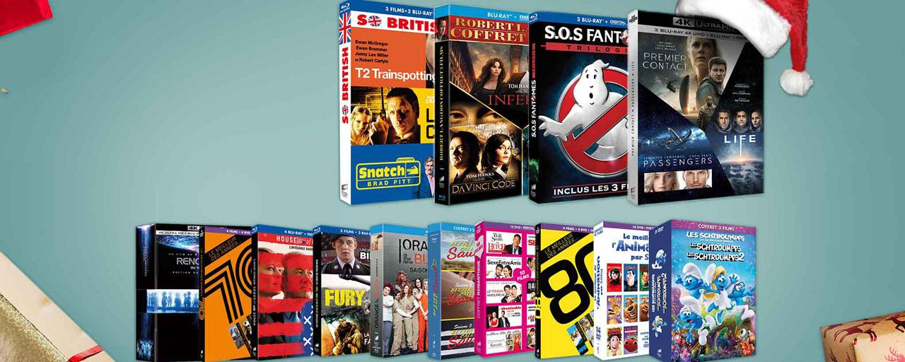 Sony fait le plein de coffrets Blu-ray DVD pour Noël